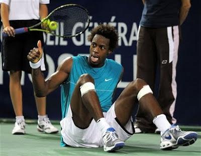 Black Tennis Pro's Gael Monfils Open de Moselle Champion