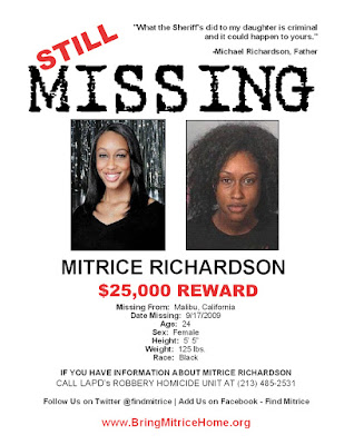 Black Tennis Pro's Still Missing, Mitrice Richardson
