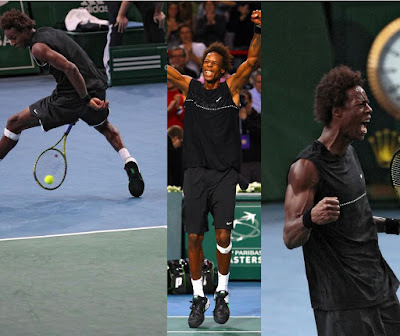 Black Tennis Pro's Gael Monfils Paris Masters Final