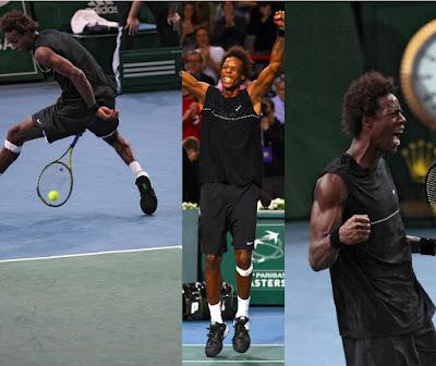 Black Tennis Pro's Gael Monfils Paris Masters Final