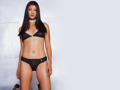 Wallpapers Kelly Hu (Born February 13, 1968) Is An American Actress