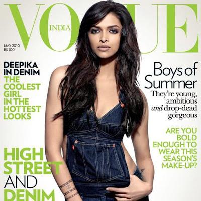 Deepika Padukone Vogue Mai 2010