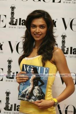 "Deepika Padukone Unveils ""Latest Vogue Issue""Deepika Padukone"