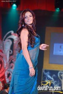 Neetu Chandra Hot Pics in Saree