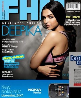 Deepika Padukone Fhm August Issue
