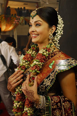 Aishwarya Rai in Bridal saree