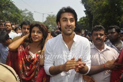 Priyanka Chopra at RK ganesha visarjan 3