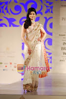 Prachi Desai in Bridal Saree walks Ramp23