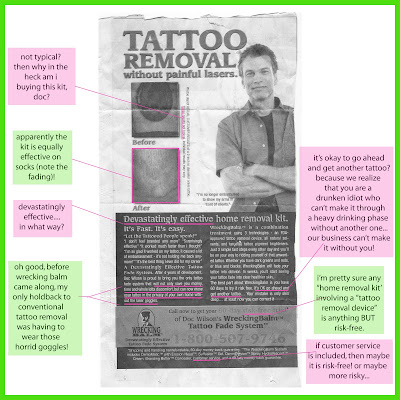 Wrecking Balm Tattoo Removal