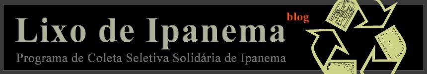 Lixo de Ipanema - RJ