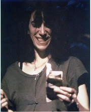 Patti Smith Burns Money
