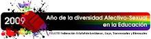 2009 Añu de la Diversidá Afectivo Sexual n´a Educación