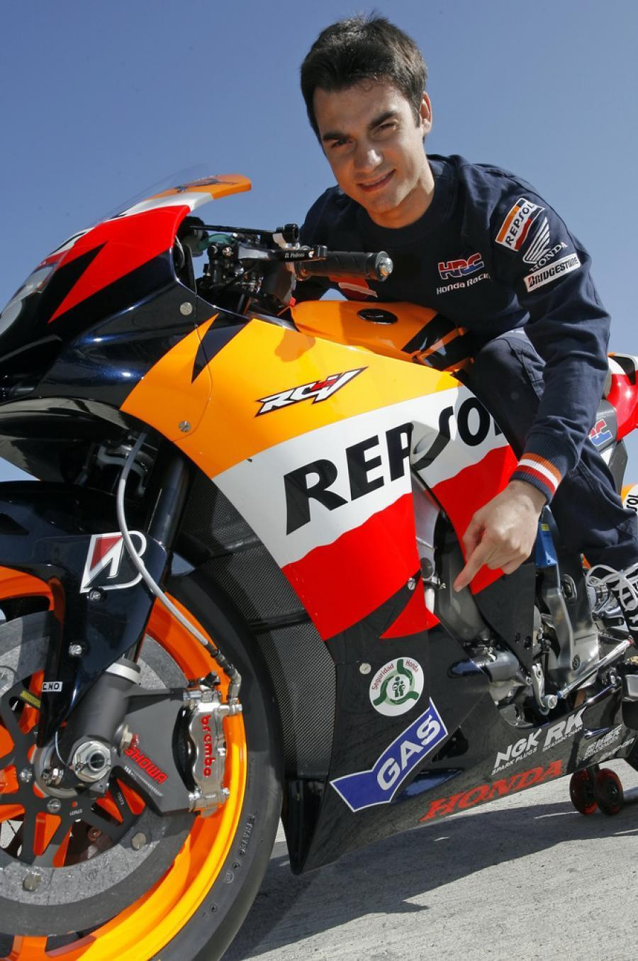 World Heavy Bikes Dani Pedrosa Bike Champoin