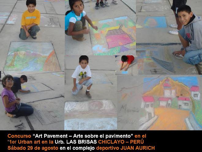 "Concurso ""Art Pavement – Arte sobre el pavimento""  LAS BRISAS - 2009"