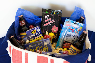 Pop Rocks Father's Day Gift Basket