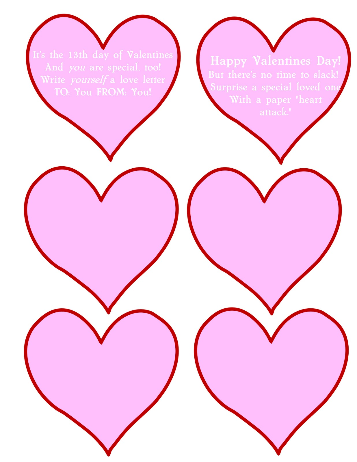 How to Make a Love Letter Garland Valentine  Tip Junkie