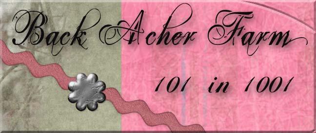 Back Acher's 101 in 1001