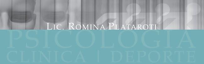 Lic. Romina Plataroti