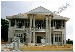 gambar rumah tingkat on My Technic Services Sdn. Bhd.: Bina Rumah En. Manan