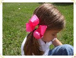 "LARGE BOUTIQUE BOW (5"")"