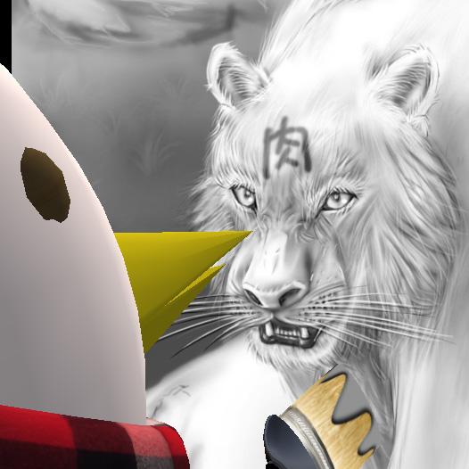 白虎を描画中