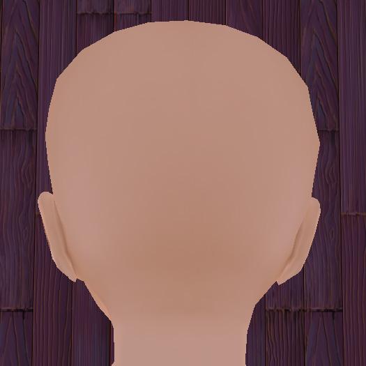 アバター後頭部の拡大