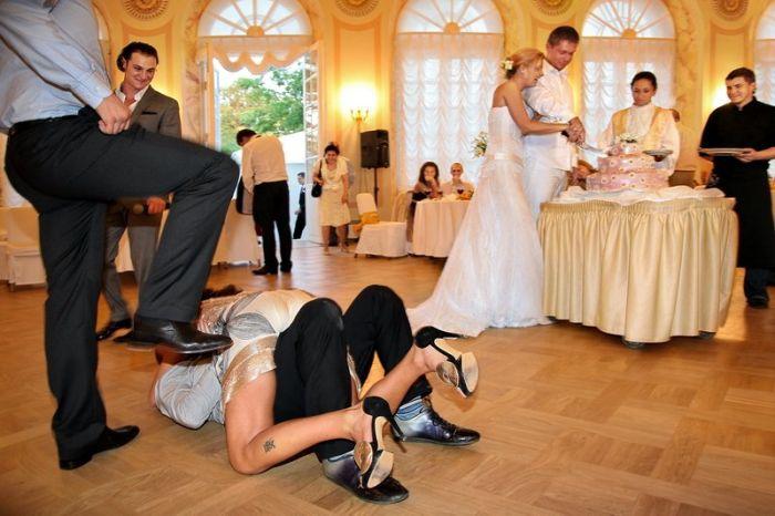 312Одна невеста на толпу порно