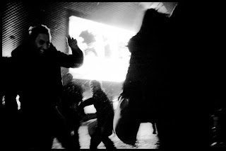 Bitwa na Poduszki - akcja promocyjna - zorganizowana przez Kolektyw Partyzant dla IKEA i AMW NAWROT. fot. Łukasz Cyrus, Ruda Śląska.
