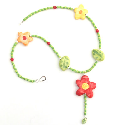 Springy Necklace for Girls