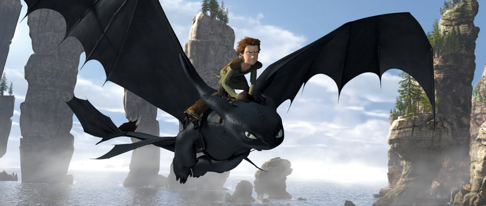 Best How to Train Your Dragon 3D movie Wallpapers