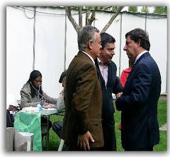 Pastor da Igreja Adventista com o Sr. Presidente da Câmara de Matosinhos