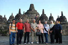 Group Photo at the Borobudur
