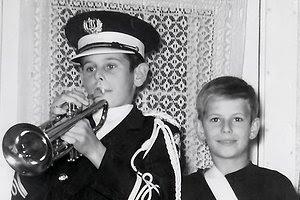 first trumpet made
