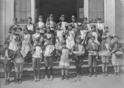 photo of Derby Grammar 1927 band