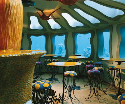 Beautiful Underwater Restaurant Seen On www.coolpicturegallery.net
