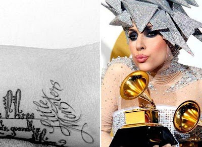 celebrity tattoos designs