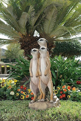 outdoor garden sculptures