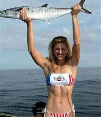 bikini fishing pictures