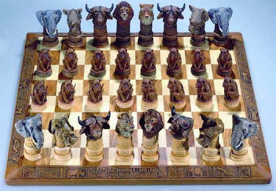 Strange chess board sets Seen On www.coolpicturegallery.net