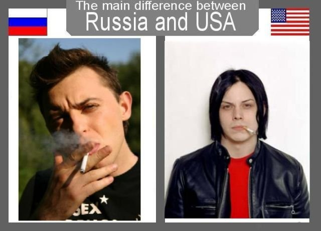 Funny Usa Pictures Russia And The Usa Funny