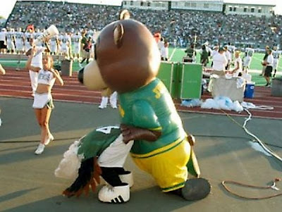 When Mascots behaving badly www.coolpicturegallery.net