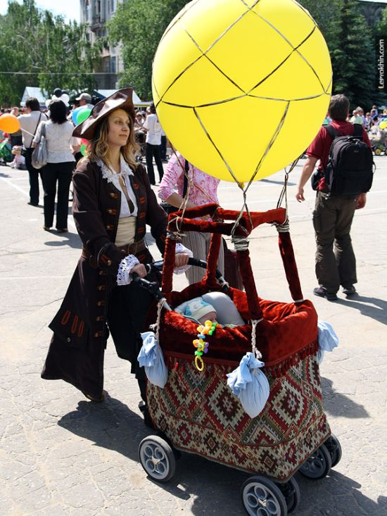55 unusual baby carriages strollers Unusual-baby-carriages-29