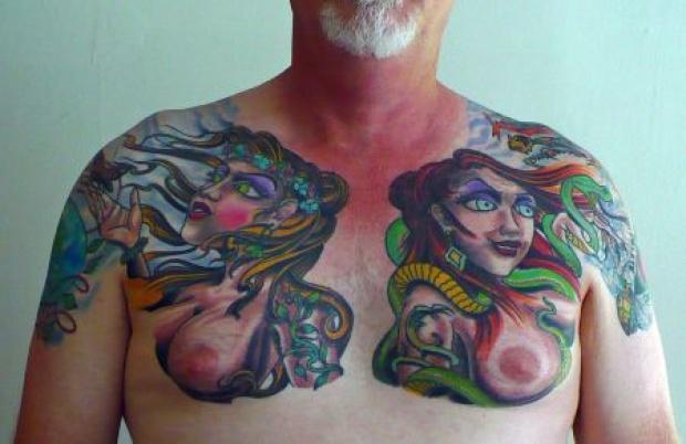 Weird, Unusual Male Tattoos