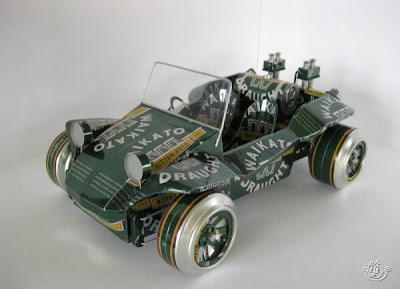 Cars made of Tin cans Seen On www.coolpicturegallery.net