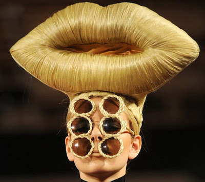 Funny, strange and crazy hairstyles Seen On www.coolpicturegallery.net