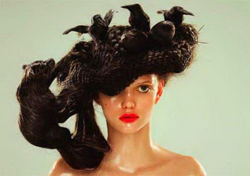 Funny, strange and crazy hairstyles - 30 Pics