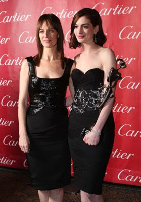 20th Annual Palm Springs Worldwide Film Celebration Awards ,Anne Hathaway, Rosemarie DeWitt