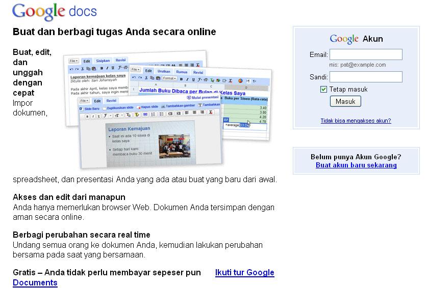 Simpan Data Anda Di Google Dokument - Google dokument