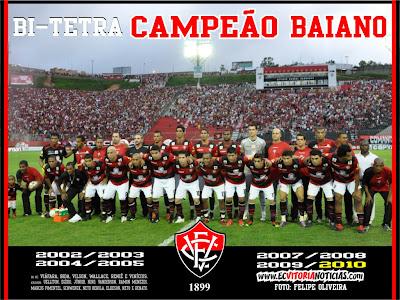 Campeão Baiano 2010 - Vitória