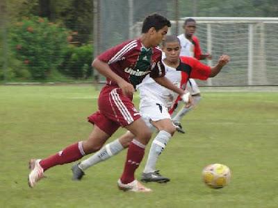Foto: Vitória x Fluminense sub-15